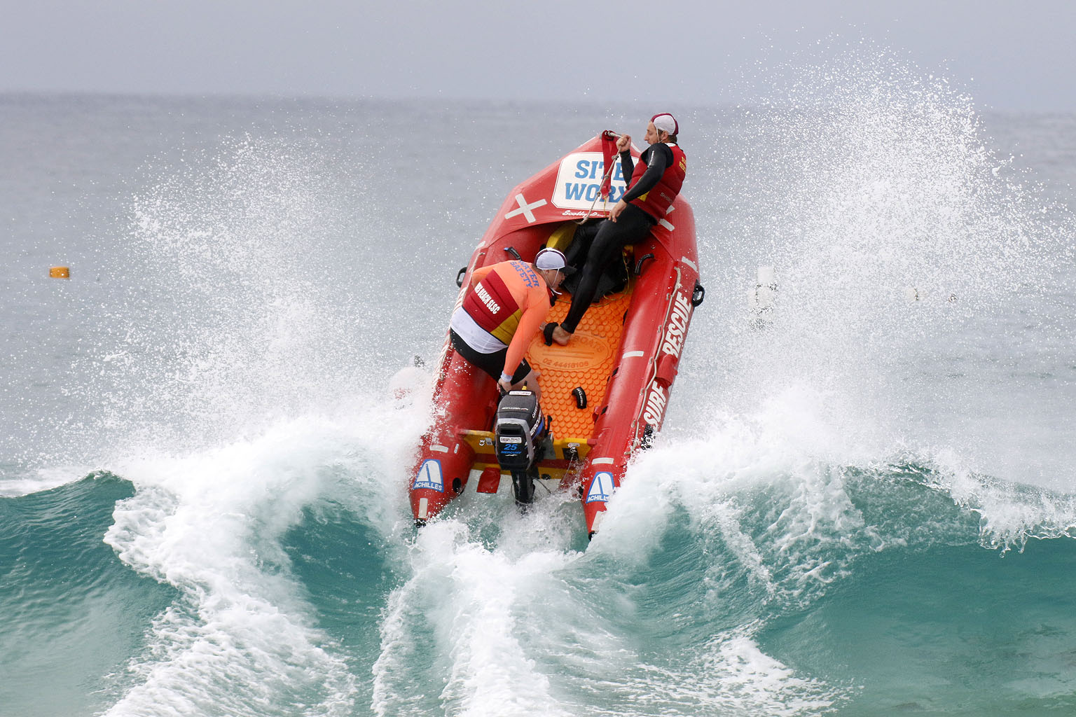 Surf Life Saving Boat